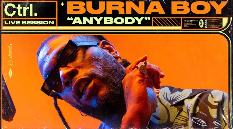 Burna Boy shares performances for Vevo Ctrl