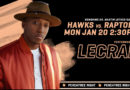 Lecrae To Perform at Atlanta Hawks MLK Day Game – January 20, 2020