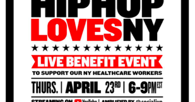 "THE UNIVERSAL HIP HOP MUSEUM AND MASS APPEAL PARTNERS WITH YOUTUBE TO HOST ""HIP HOP LOVES NY"" A SIMULCAST LIVE STREAMING BENEFIT EVENT"